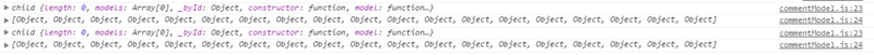 The data returned by backbone Collection fetch cannot be added to the collection