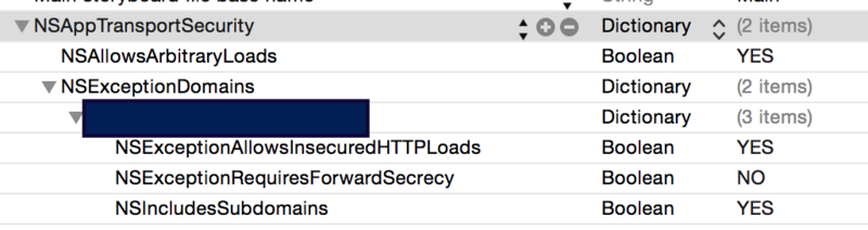 Connection Issues Concerning https in ios9