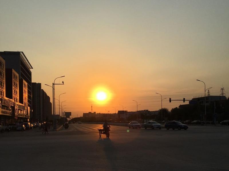 回龙观东大街的傍晚