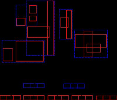 R-tree 示意图
