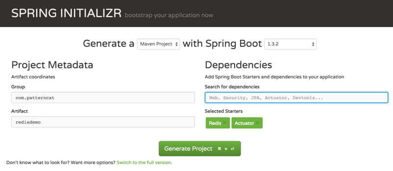 Distributed caching for SpringBoot applications
