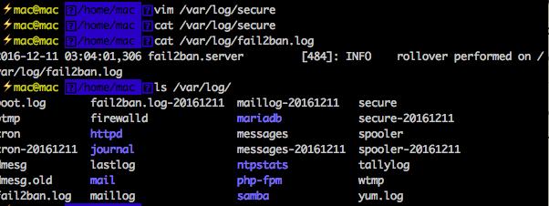 /var/log/secure等都是空的