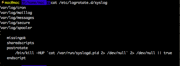syslog配置文件
