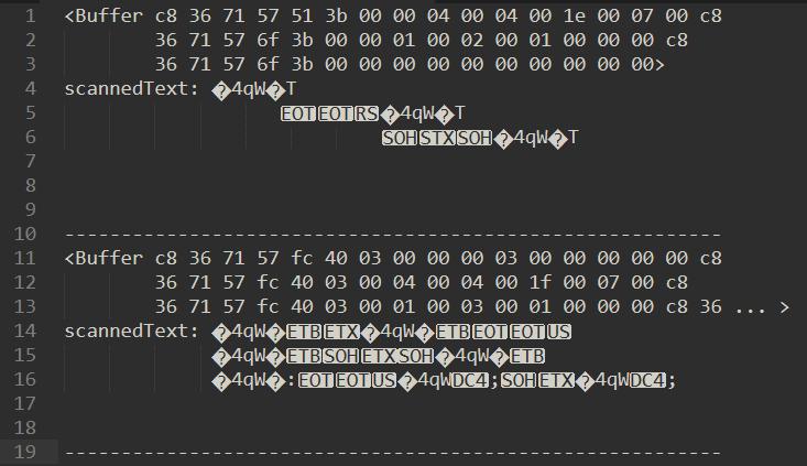 utf-8 解码的结果