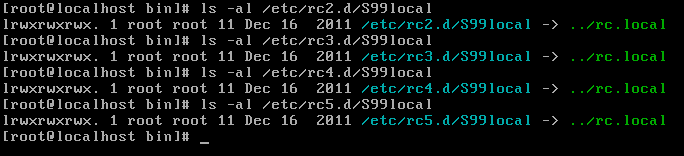 Must /etc/rc.local under CentOS be a soft link to /etc/rc.d/rc.local?  Why isn't it in my system?